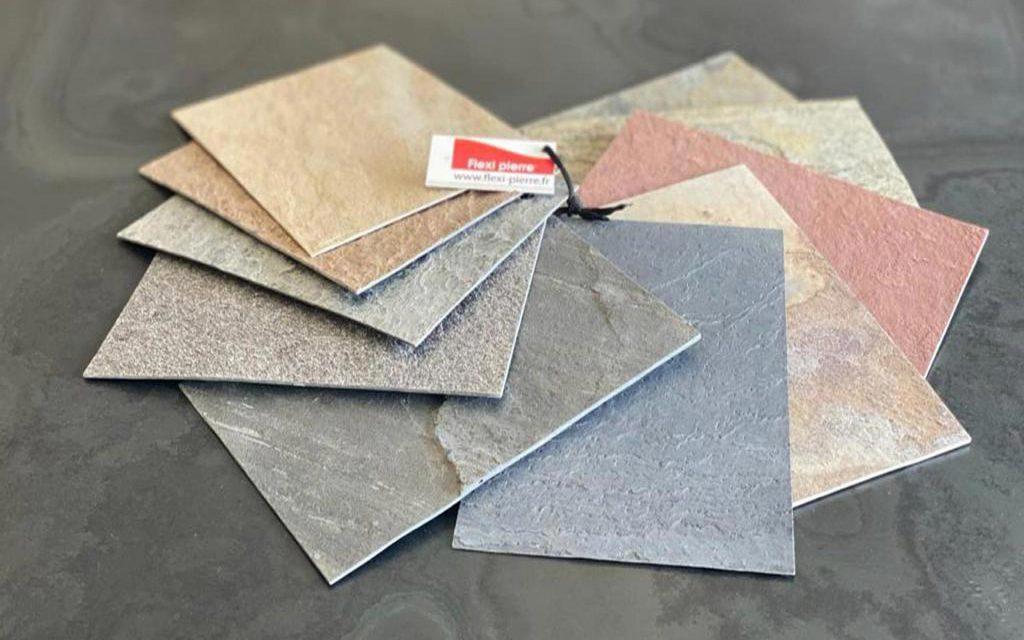 Echantillons de feuilles de pierre de nos douze références format A5