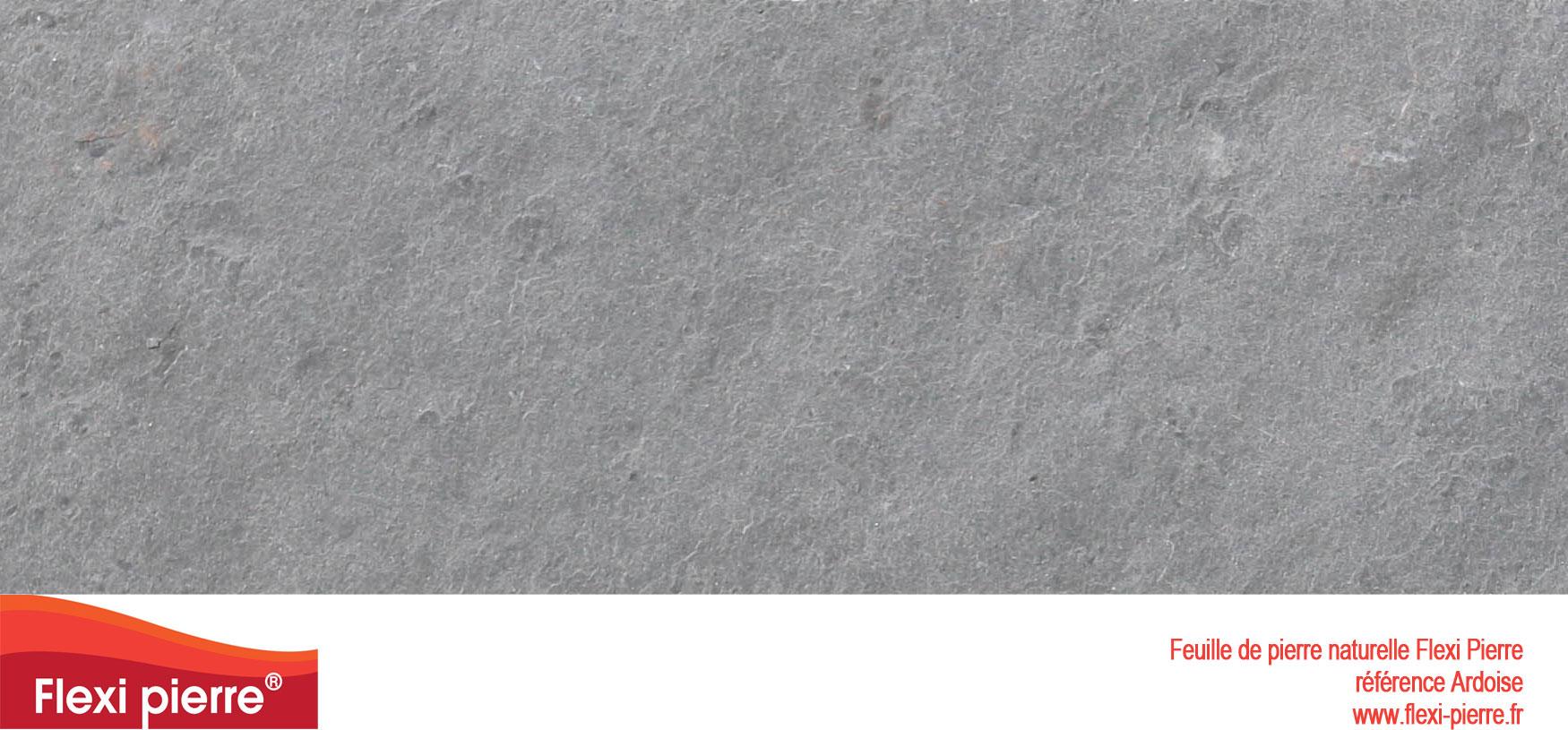 Feuille de pierre ardoise