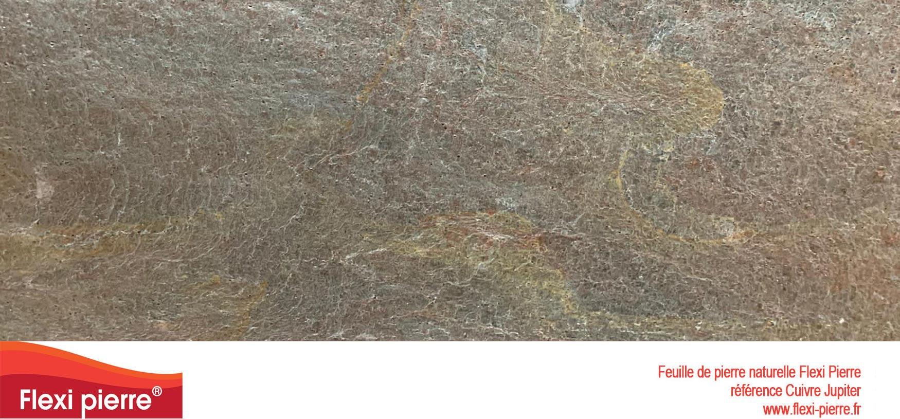 feuille de pierre Cuivre de Jupiter