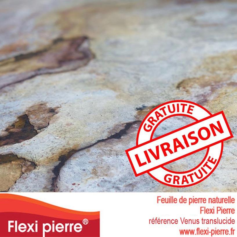 Feuille de pierre Venus Translucide, livraison gratuite
