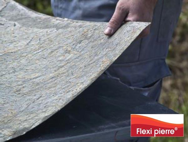 Feuille de pierre FAQ La feuille de pierre est fine, flexible et se découpe facilement.