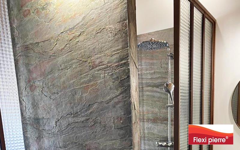 Feuille de pierre Vert Europa en salle de bains